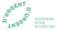 Logo baseline D'URGENT-groen