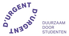 Logo baseline D'URGENT-paars